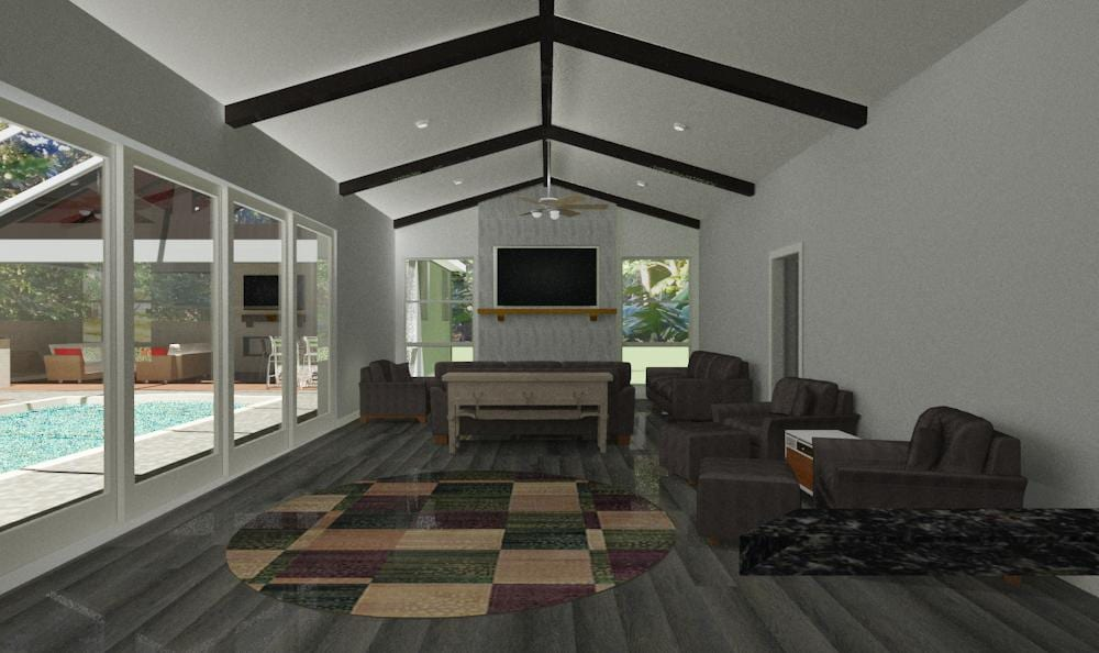 REVISED LIVING ROOM VIEW