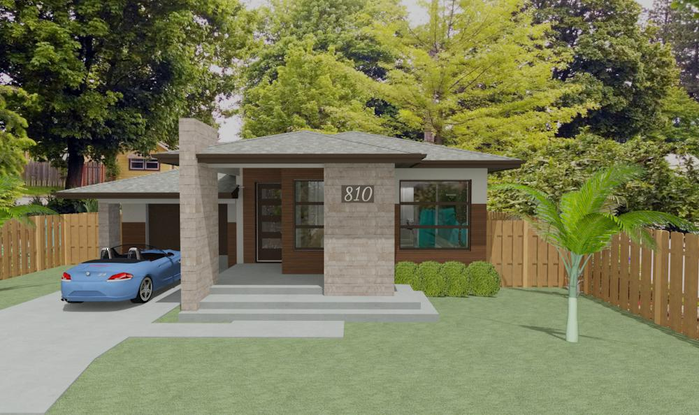 exterior elevation V1