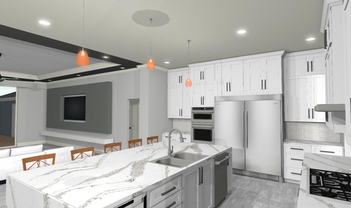 kitchen view E 830