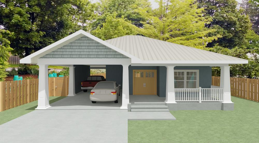 miller custom home plan